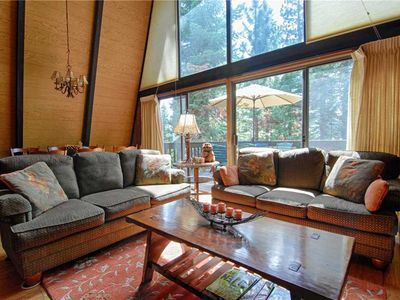 """Photo for """"Runnymeade Cottage"""" ~Kings Beach Home, Forest Views, Fireplace ~ Property #146"""