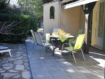 Photo for Very nice villa for 8 people, Plain feet, on ground of 800m2 sported well.