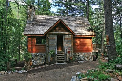 Conifer Creek - our most secluded and private cabin yet. Need somewhere to write a book, reconnect with nature and stay for awhile.