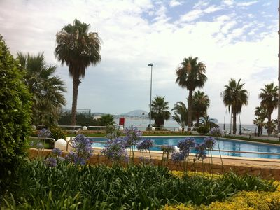 Photo for MESANA - Luxury sea views apartment - Sea Prime Position just 15meters to beach