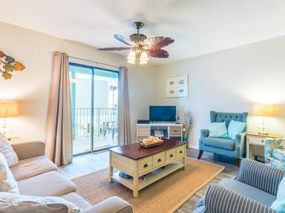 Beautiful Gulf Front Condo with Indirect Views of the Beach! Sundial!