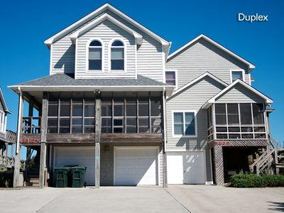 Photo for Sea Pointe 4B: 4 BR / 3 BA duplex in Nags Head, Sleeps 8