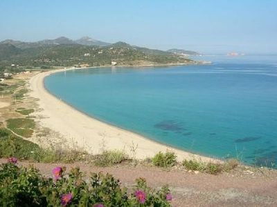 Photo for Quiet camp. App. GROUND GARDEN -ext. spac. 5 min. LOZARI Beach - 10 min. ILE-ROUSSE