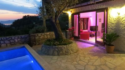 Photo for 3 Bedroom Villa With Private Swimming Pool And Sea Views