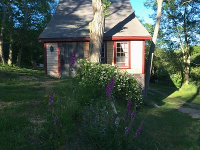 Renovated 200 year old barn on quiet country road.  On  10 acre farm.