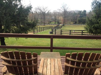 View of Pastures from front porch