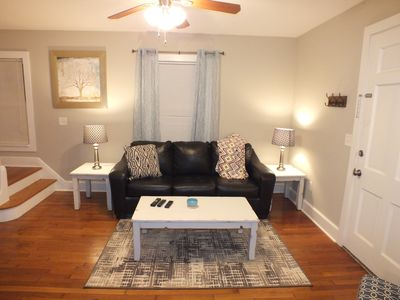 Photo for 2 Bedroom, completely renovated, close to MTSU and Downtown, Comcast TV/Internet