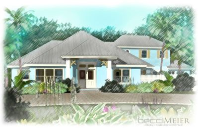 The architects drawing of the new Carissa Beach Retreat
