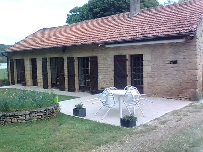 Photo for Stone house with pool near Sarlat