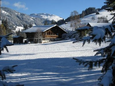 Photo for Apartment Chalet Nyati in Gstaad - 4 persons, 2 bedrooms