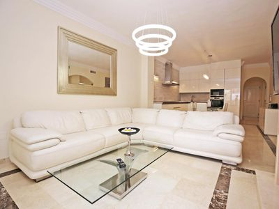 Photo for Modern Large 3 Bedrooms Apartment, 5 minutes from PUERTO BANUS, Marbella ✔