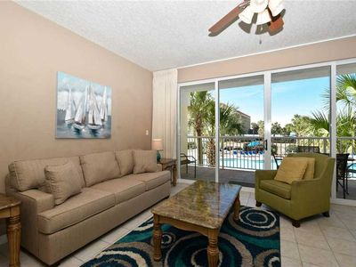 Photo for Open concept, brightly furnished w/beachfront views! ☀