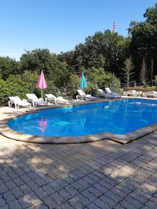 Photo for Studio for 2 people with Terrace + pool near Sarlat