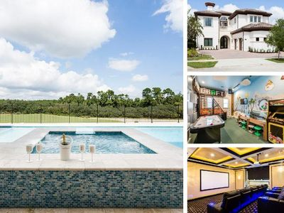 Photo for W231- 7 Br Luxury Villa With Pool Overlooking Golf