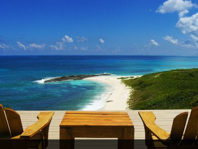 Photo for Unique beachfront property with the most extraordinary views in the Bahamas!