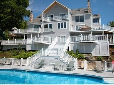 Photo for The Heights 10 BR Home w/ in-ground Pool, Home Theater, Sauna, Gorgeous View