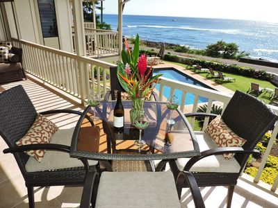 Photo for Alihi Lani 4: Full A/C - top floor Ocean Views!  * Remodeled * Pool