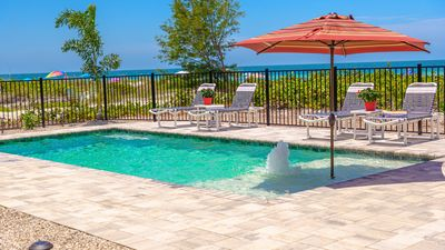 Photo for 2 PRIVATE BEACH HOMES  W/NEW HEATED POOL  (JUST REMODELED!)