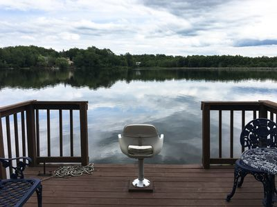 Photo for Cozy Poconos Chalet on the Lake - 15 min drive to Waterparks