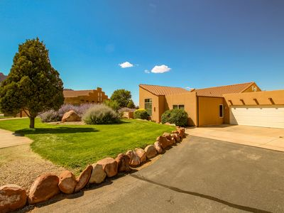 Photo for Community style pool & hot tub w/ nearby golf course and Arches National Park!