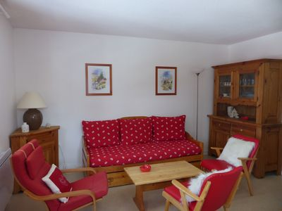 Photo for Apartment 4/6 persons Valfrejus Chalets Arrondaz