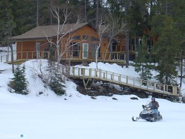 Winter Cottage On Lake Of The Woods - Sioux Narrows