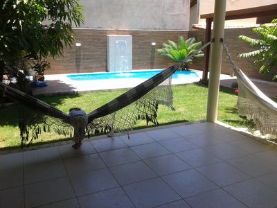 Photo for LUXURY house: swimming pool, waterfall, with 3 bedrooms, pool, gated community LUXURY
