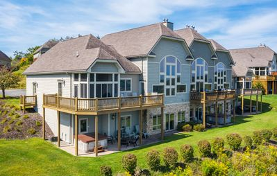 Photo for Splendid 4 Bedroom Elegantly furnished home with extraordinary lake views!