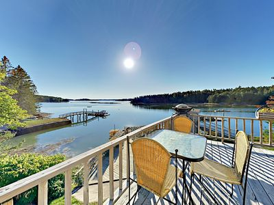 Photo for Boothbay Harbor Retreat w/ Wraparound Deck & Stunning Waterfront Views