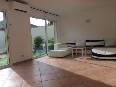 Photo for large villa T5 air-conditioned near beaches (1.5 km) and city center (500m)