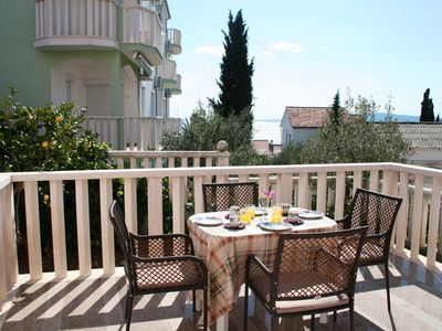 Photo for Spacious Apartment With Seaview Terrace Just 200m From The Beach
