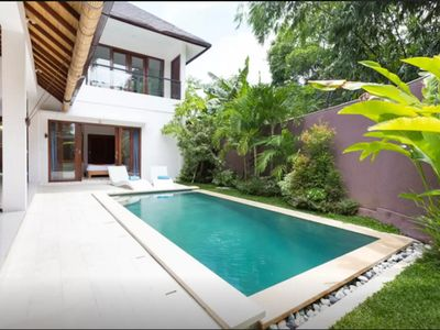 Photo for Beautiful villa in a quiet environment - Best for families. - Close to the beach