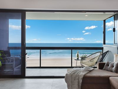 Photo for Enjoy ABSOLUTE beach front renovated 3 brm apt w/2x parking
