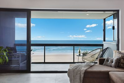 Stunning ocean views of the beach from every angle
