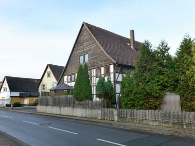 Photo for Modern holiday home in the Weser Uplands in a half-timbered house with PREMIUM-CARD