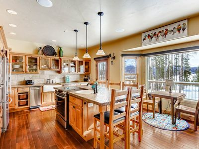 Photo for Serene mountain retreat with views, awesome entertainment & private hot tub