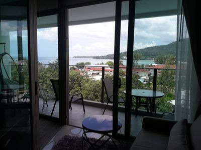 Photo for in the heart of Kamala Beach, fantastic sea view, beach, jungle