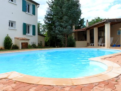 Photo for house with pool, corner summer in South Ardèche, classified 3 stars