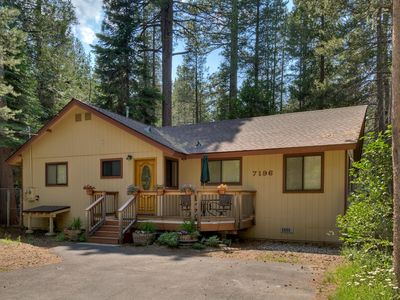 Photo for Tahoma Woods: 3  BR, 2  BA Cabin / Bungalow in Tahoma, Sleeps 7