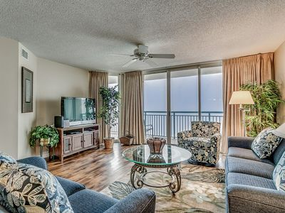 Photo for Elegant Oceanfront Condo, Hard Wood Floors, Lazy River | Windy Hill Dunes - 1302
