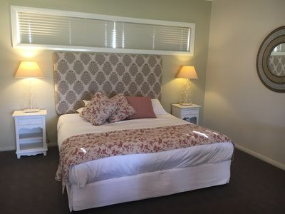 Enjoy the comforts of a king bed
