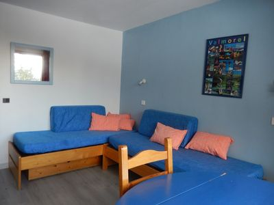 Photo for 1BR Apartment Vacation Rental in LES AVANCHERS VALMOREL