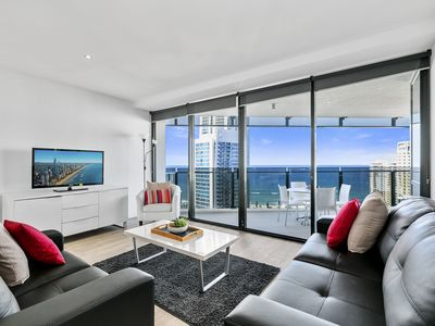 Photo for Ocean View 3 Bedroom Apartment at Circle on Cavill