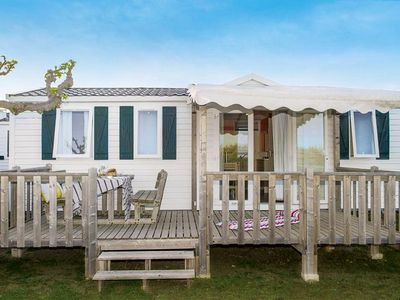 Photo for Camping Le Neptune **** - Mobil-home Cozy Plus 3 Rooms 5 People conditioning