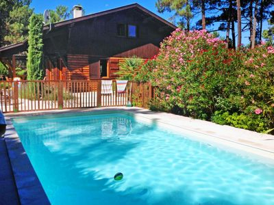 Photo for Vacation home Lac et Forêt in Lacanau - Lac - 8 persons, 4 bedrooms