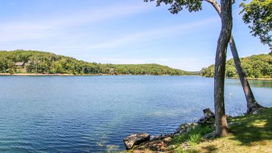 Photo for Innsbrook - Lakefront Lodge Style Home - 260 Acre Lake Alpine