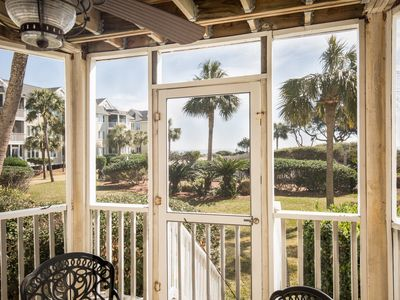 Photo for Oceanfront!! 1st Floor walkout unit! King bed!
