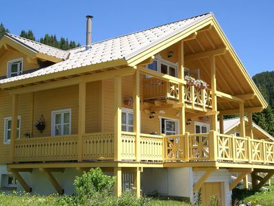 Photo for Chalet for ten people in superb ski area, near three lakes