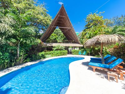 Photo for Nosara Beach Compound w/Pool - 2 minute walk to Guiones beach!