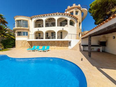 Photo for Villa Rosh - A luxury, 3 floor villa with majestic sea views this large villa is perfect for a large